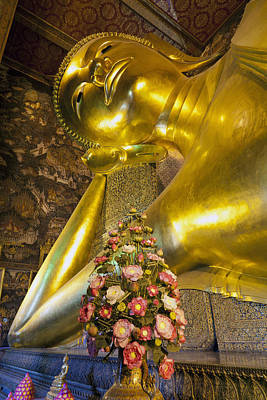 Photograph - Reclining Buddha by Alexey Stiop