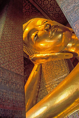 Photograph - Reclining Buddha by Judi Baker