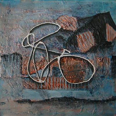 Painting - Reclining Figure by Dan Koon