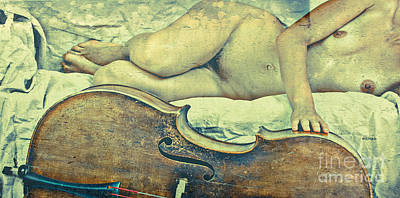 Erotica Photograph - Reclining In Nude  by Jacob Smith