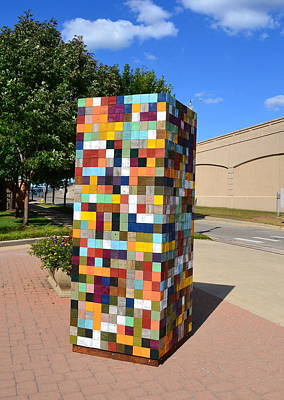 Sculpture - Reconstructing Fences by Michelle Calkins