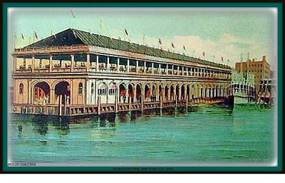 Painting - Recreation Pier- New York City- 1920 by Dwight Goss