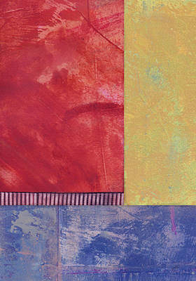 Color Block Mixed Media - Rectangles - Abstract -art  by Ann Powell