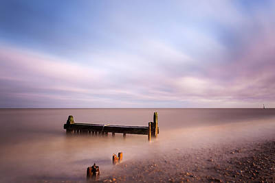 Reculver Photograph - Reculver Bay by Stuart Gennery