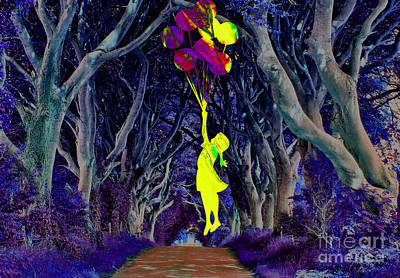 Recurring Dream Of Flying Art Print by Marvin Blaine