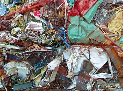Recycle Art Print by Laurie Tsemak