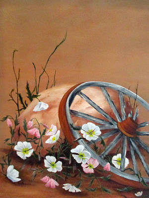 Painting - Recycled by Roseann Gilmore