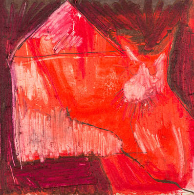 Mixed Media - Red. 1 by Marie Tosto