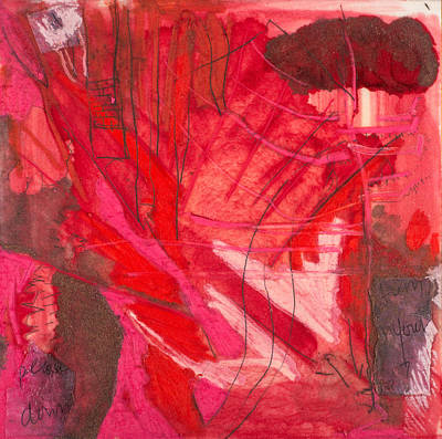 Mixed Media - Red. 3 by Marie Tosto