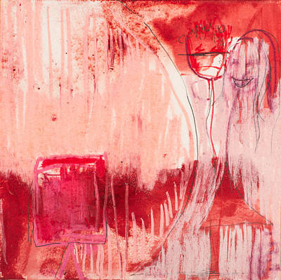 Mixed Media - Red. 4 by Marie Tosto