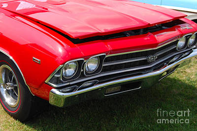 Photograph - Red '69 Chevelle by Mark Spearman