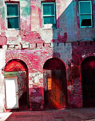 Photograph - Red Abandonment by Holly Blunkall
