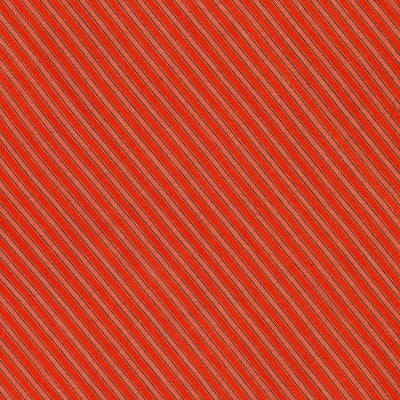Red And Black Striped Diagonal Textile Background Art Print by Keith Webber Jr