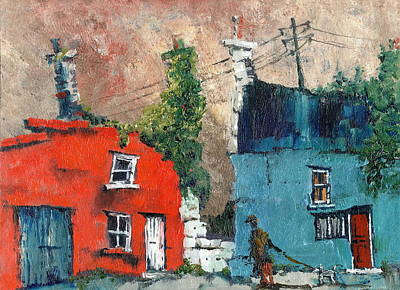 Painting - Well Maybe Its Ok by Val Byrne