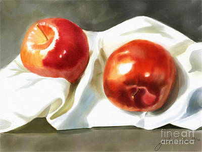 Painting - Red And Juicy by Joan A Hamilton