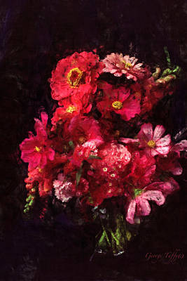 Photograph - Red And Magenta Still Life by George Tuffy
