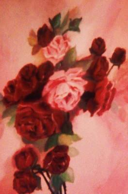Painting - Red And Pink Roses by Christy Saunders Church