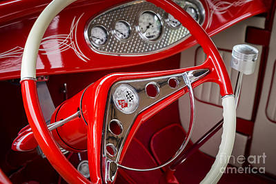 Photograph - Red And White by Dennis Hedberg