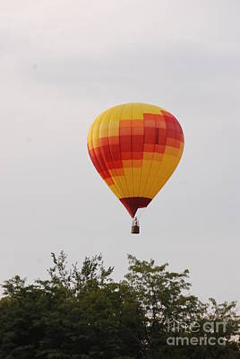 Photograph - Red And Yellow Balloon by Mark McReynolds