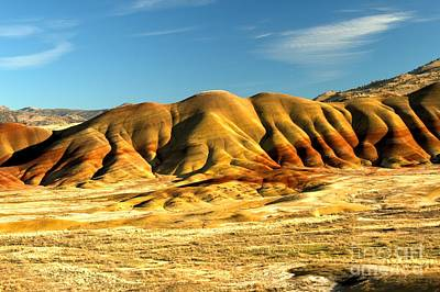 Photograph - Red And Yellow Painted Hills by Adam Jewell