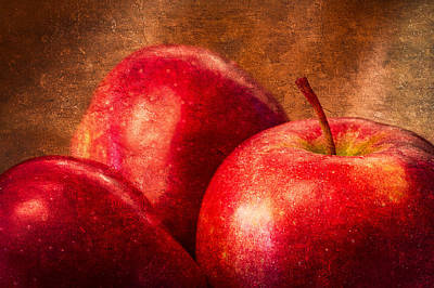 Apple Photograph - Red Apples by Alexander Senin