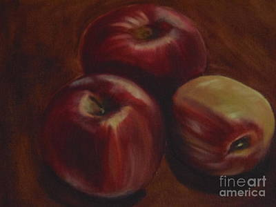 Painting - Red Apples by Isabel Honkonen