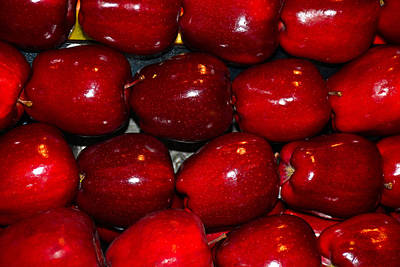 Photograph - Red Apples by Robert Meyers-Lussier