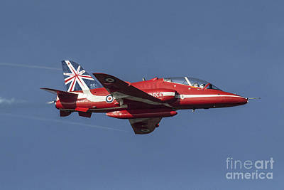 Red Arrows 50 Display Seasons Art Print by J Biggadike