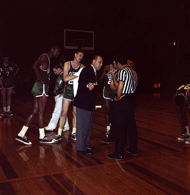 Red Auerbach  Art Print by Retro Images Archive