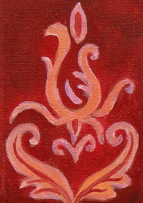 Painting - Red Aura by Tanya Anurag