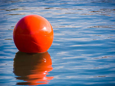 Photograph - Red Ball by Robin Zygelman