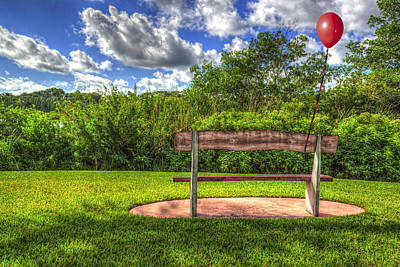 Photograph - Red Balloon by Paul Wear