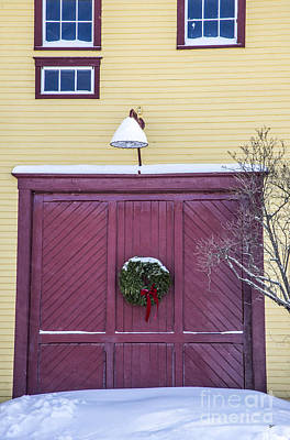 Photograph - Red Barn Door by Alana Ranney