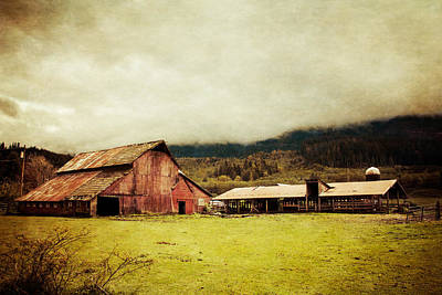 Red Barn Art Print