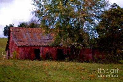 Red Barn Two Art Print