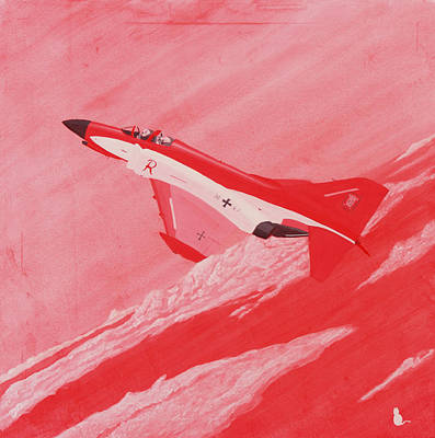 Red Baron Phantom Original by Jonathan Laverick