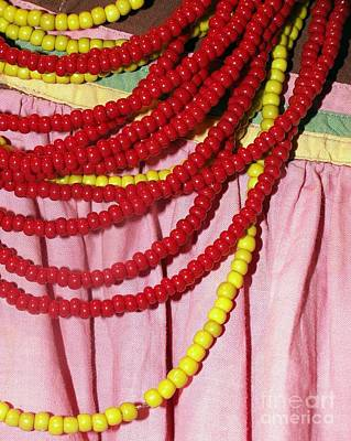 Photograph - Red Beads by Valerie Reeves