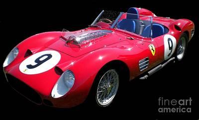 Ferrari Watercolor Photograph - Red Beauty by Gennaro Orlando