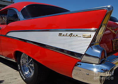 Red Belair Fins Art Print