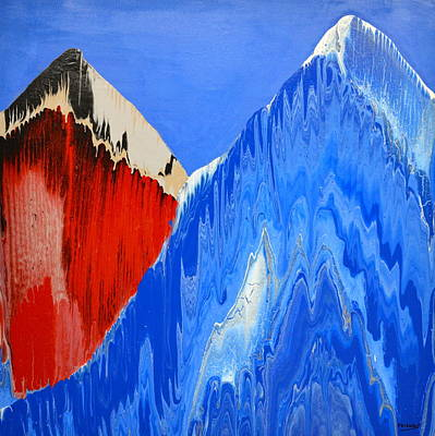 Painting - Red Blue by Brooke Friendly