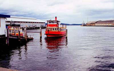 Photograph - Red Boat by David Rich