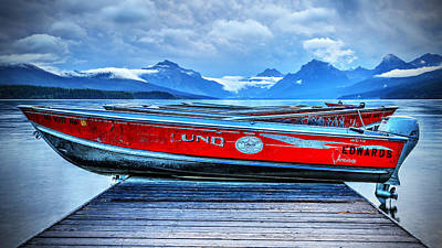 Photograph - Red Boats by Jaki Miller
