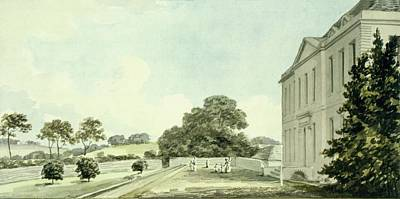 Norfolk Wall Art - Drawing - Red Book For Sheringham Hall, C.1812 by Humphry Repton