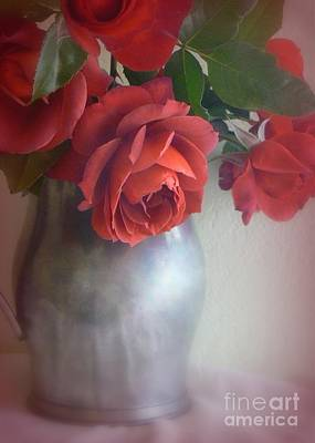 Photograph - Red Bouquet by Diana Besser