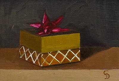 Painting - The Red Bow by Grace Diehl