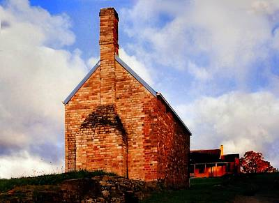 Photograph - Red Brick Convict Building by David Rich