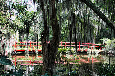 Photograph - Red Bridge by Ed Waldrop