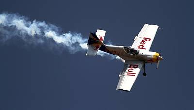 Photograph - Red Bull - Aerobatic Flight by Ramabhadran Thirupattur