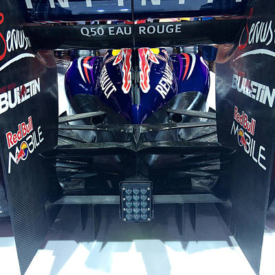 Diffuser Photograph - Red Bull Formula 1 by MAG Autosport