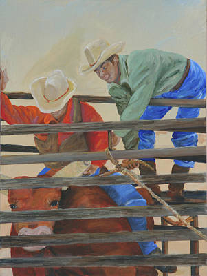 Painting - Red Bull by Gail Daley